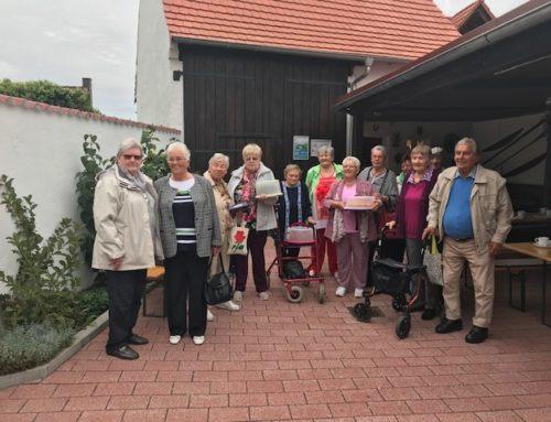 Besuch im Heimathaus Eggenstein